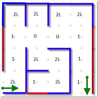 Maze 10 for Lego NXT MindStorms robot, free tutorial